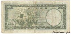 50 Escudos GUINÉE PORTUGAISE  1971 P.044 TB
