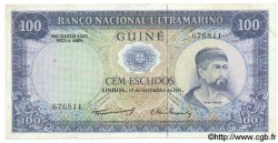 100 Escudos GUINÉE PORTUGAISE  1971 P.045 TTB