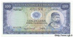 100 Escudos GUINÉE PORTUGAISE  1971 P.045 SUP