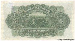 5 Rupias INDE PORTUGAISE  1938 P.031 TTB