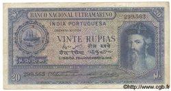 20 Rupias INDE PORTUGAISE  1945 P.037 TB+