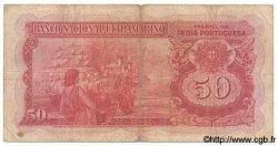50 Rupias INDE PORTUGAISE  1945 P.038 TB
