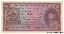 100 Rupias INDE PORTUGAISE  1945 P.039 TTB