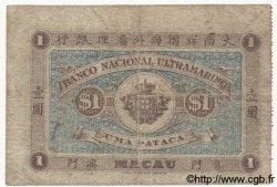 1 Pataca MACAO  1905 P.001 B+