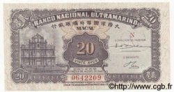 20 Avos MACAO  1946 P.037a NEUF