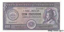 100 Escudos SAINT THOMAS et PRINCE  1958 P.038 pr.NEUF