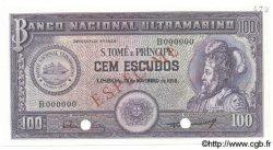 100 Escudos SAINT THOMAS et PRINCE  1958 P.038s NEUF