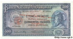 500 Escudos SAINT THOMAS et PRINCE  1976 P.047 TTB+