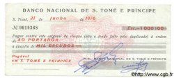 1000 Escudos SAINT THOMAS et PRINCE  1976 P.051 TTB+