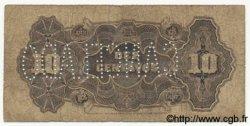 10 Centavos MOZAMBIQUE Beira 1919 P.R01 B+
