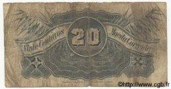 20 Centavos MOZAMBIQUE  1919 P.R02a B+