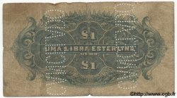 1 Libra MOZAMBIQUE  1919 P.R06a B