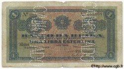 1 Libra MOZAMBIQUE  1919 P.R06c B+