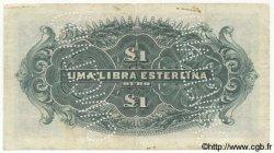 1 Libra MOZAMBIQUE Beira 1919 P.R06b pr.TTB