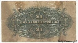 1 Libra MOZAMBIQUE  1919 P.R07b B+
