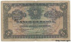 5 Libras MOZAMBIQUE Beira 1919 P.R08a B+
