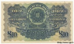 10 Libras MOZAMBIQUE Beira 1921 P.R12 TTB+ à SUP