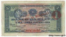 1 Libra MOZAMBIQUE Beira 1919 P.R20 B+