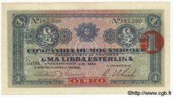 1 Libra MOZAMBIQUE Beira 1930 P.R24 TTB