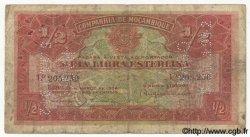 1/2 Libra MOZAMBIQUE Beira 1934 P.R30 B+