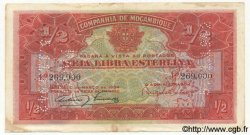 1/2 Libra MOZAMBIQUE  1920 P.R30a TTB