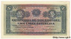 1 Libra MOZAMBIQUE Beira 1934 P.R31 SUP
