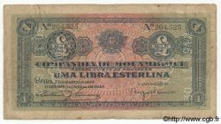 1 Libra MOZAMBIQUE  1934 P.R31 B+