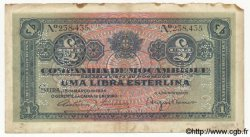1 Libra MOZAMBIQUE  1934 P.R31