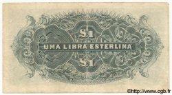 1 Libra MOZAMBIQUE Beira 1934 P.R31 TTB