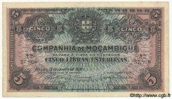 5 Libras MOZAMBIQUE  1934 P.R32 SUP