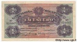 1 Escudo MOZAMBIQUE Beira 1937 P.R33 TTB
