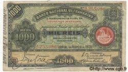 1000 Reis MOZAMBIQUE  1909 P.033 TB+