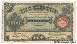 1000 Reis MOZAMBIQUE  1909 P.033 pr.NEUF