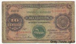 10 Centavos MOZAMBIQUE  1914 P.053 B+