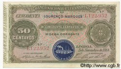 50 Centavos MOZAMBIQUE  1914 P.055 SUP