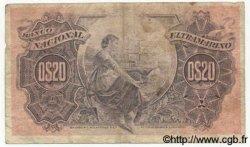 20 Centavos MOZAMBIQUE  1914 P.057 B à TB
