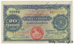 20 Centavos MOZAMBIQUE  1914 P.060 TTB+