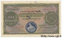 50 Centavos MOZAMBIQUE  1914 P.061 TTB