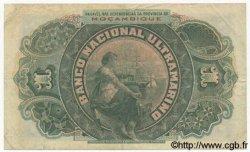 1 Escudo MOZAMBIQUE  1921 P.066a TTB
