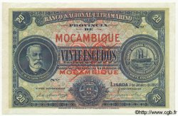 20 Escudos MOZAMBIQUE  1921 P.070bs SPL