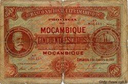 50 Escudos MOZAMBIQUE  1921 P.071b AB