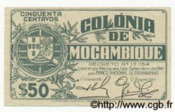 50 Centavos MOZAMBIQUE  1941 P.080 TTB