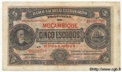 5 Escudos MOZAMBIQUE  1941 P.083a TB+