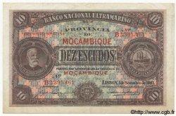 10 Escudos MOZAMBIQUE  1941 P.084 TTB