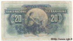 20 Escudos MOZAMBIQUE  1941 P.085 TB