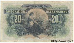 20 Escudos MOZAMBIQUE  1941 P.085 TB+