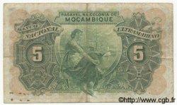 5 Escudos MOZAMBIQUE  1943 P.089 TB