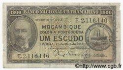 1 Escudo MOZAMBIQUE  1944 P.092 TB
