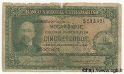 5 Escudos MOZAMBIQUE  1945 P.094 AB