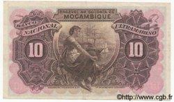 10 Escudos MOZAMBIQUE  1945 P.095 TTB